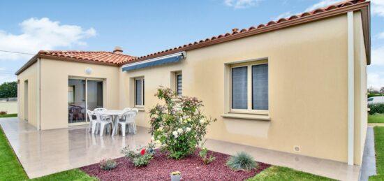 Maison traditionnelle Vendéenne de 116 m² à Talmont Saint Hilaire (85)