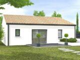 Avant-projet L'HERMENAULT - 70 m² - 2 chambres  LMP Constructeur