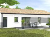 Avant-projet MONTAIGU - 90 m² - 4 chambres  LMP Constructeur