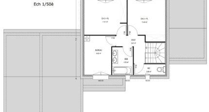Avant-Projet LANDERONDE - 110 m² - 3 chambres 3804-3430modele720140818ipNgk.jpeg - LMP Constructeur