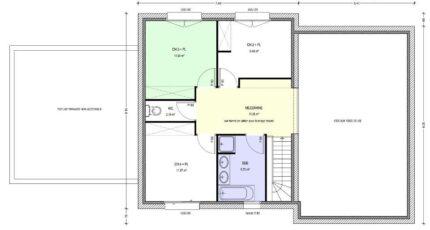 Avant-Projet HERBIERS - 140 m2 - 4 chambres 3798-3430modele720140818SaVSb.jpeg - LMP Constructeur