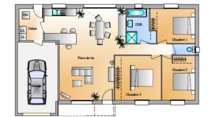 Avant-Projet La Génetouze 3 chambres 4256-1906modele820141124oqtHB.jpeg - LMP Constructeur