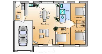 Avant-projet St Etienne Du Bois 3 Chambres 4254-1906modele820141124kL0hw.jpeg - LMP Constructeur