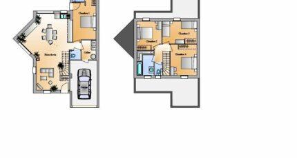 Avant projet St Hilaire de Loulay - 4 chambres - 1 4619-1906modele820150326nMqfp.jpeg - LMP Constructeur