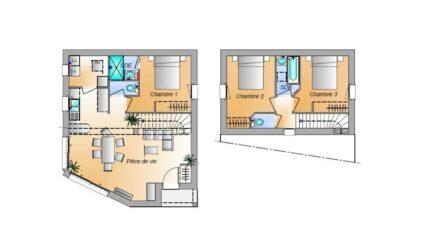Avant projet Grues 3 chambres 16588-1906modele820181106fR7el.jpeg - LMP Constructeur