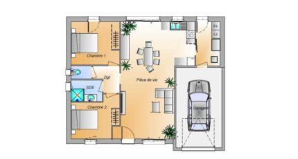 Avant Projet Bellevigny - 2 chambres 16586-1906modele820181107l338H.jpeg - LMP Constructeur
