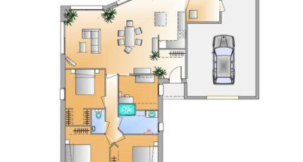 Avant projet La Chappelle Aux Lys - 3 chambres + 1 16582-1906modele820181106VxHbl.jpeg - LMP Constructeur