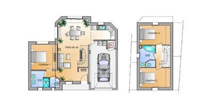 Avant projet Les Achards - 3 chambres 16585-1906modele820181107pJRPk.jpeg - LMP Constructeur