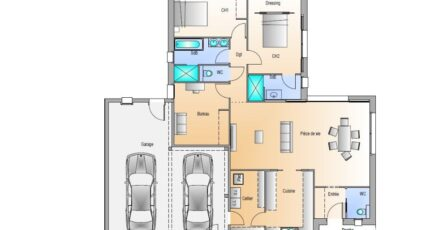 Avant projet Saint Fulgent - 3 chambres - 114m² 17704-1906modele8201812197cof4.jpeg - LMP Constructeur