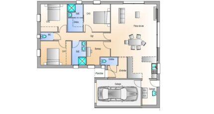 Avant projet La Jnchère - 3 chambres + 1 bureau - 17702-1906modele820181219hE2dK.jpeg - LMP Constructeur