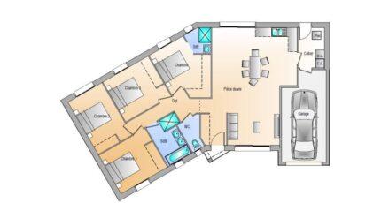 Avant projet Landevieille - 4 chambres - 105m² 17701-1906modele720181219BkByu.jpeg - LMP Constructeur