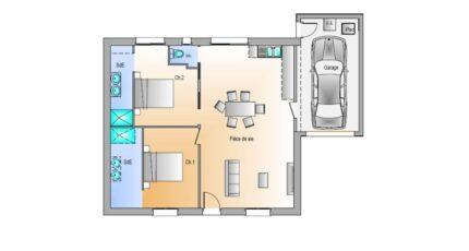 Avant projet Grand Landes - 2 chambres - 72m² 17700-1906modele8201812199TRv5.jpeg - LMP Constructeur