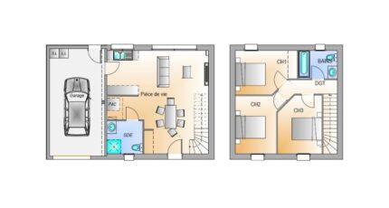 Avant projet Palluau - 79m² -3 chambres 17437-1906modele820181211e87wm.jpeg - LMP Constructeur