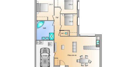 Avant projet St Hilaire La Foret - 3 chambres - 86 17703-1906modele820181219E5n2g.jpeg - LMP Constructeur